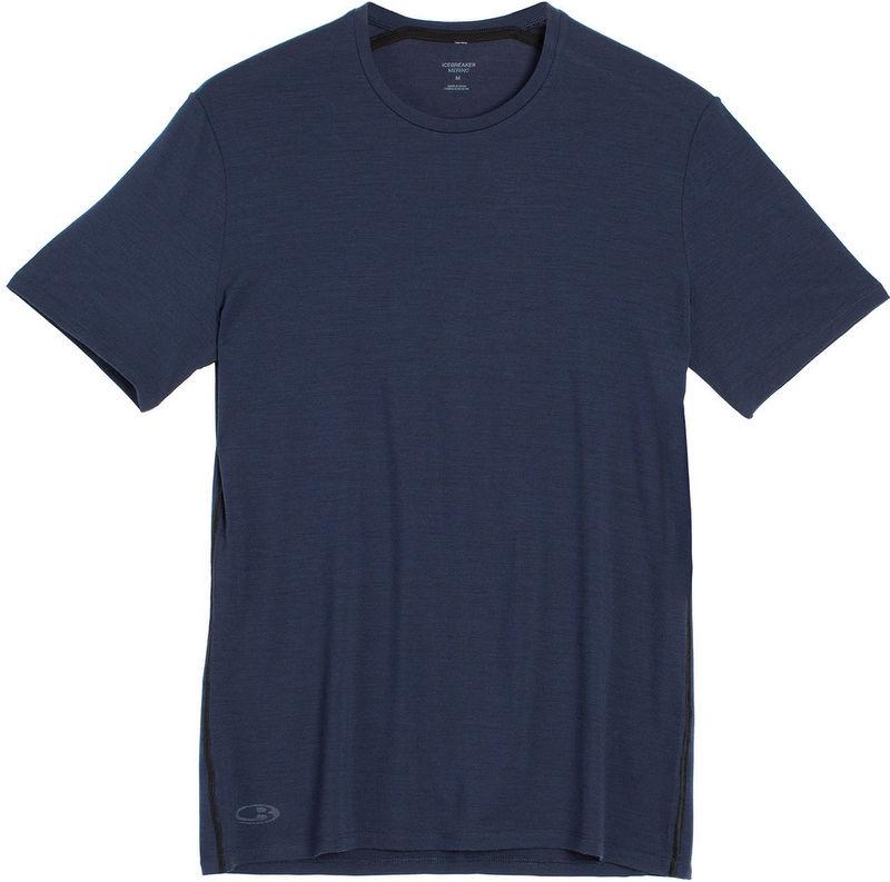 Icebreaker 排汗衣/短袖T恤/美麗諾羊毛 Anatomica BF150男款 103033-401 海軍藍