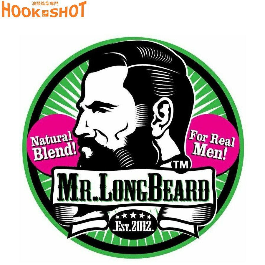 HOOK SHOT》Mr.Longbeard 大鬍膏 育鬍膏 天然草本針對臉部育毛 Black Phomthong