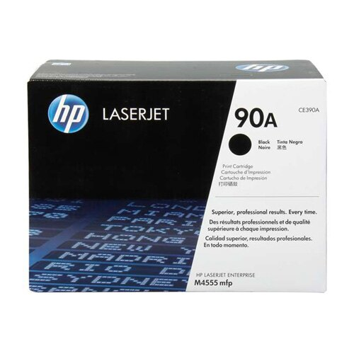 HP CE390A 原廠黑色碳粉匣 適用 HP M4555/M601/M602/M603