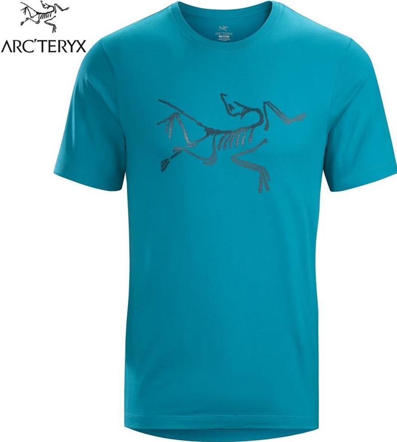 Arcteryx 始祖鳥 Archaeopteryx T恤/休閒TEE/棉T 24024 男 深冰河綠