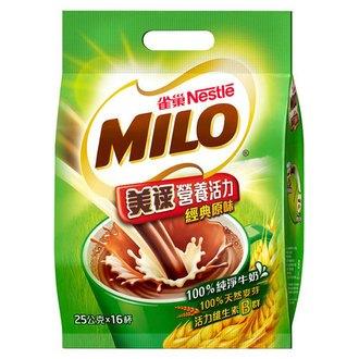 雀巢 美祿 經典原味巧克力麥芽飲品 (25gX16入)/袋