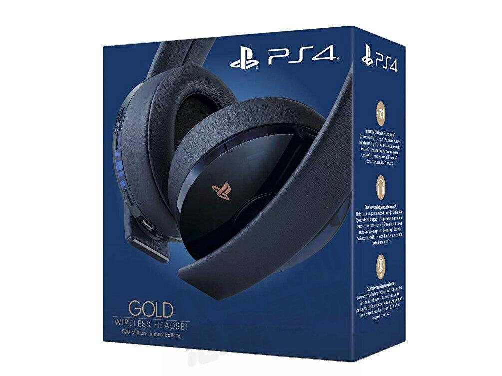 SONY 無線立體聲耳罩耳機 CECHYA-0080 5億 五億 限定版 PSVR PS3 PS4 PC 7.1 平輸貨