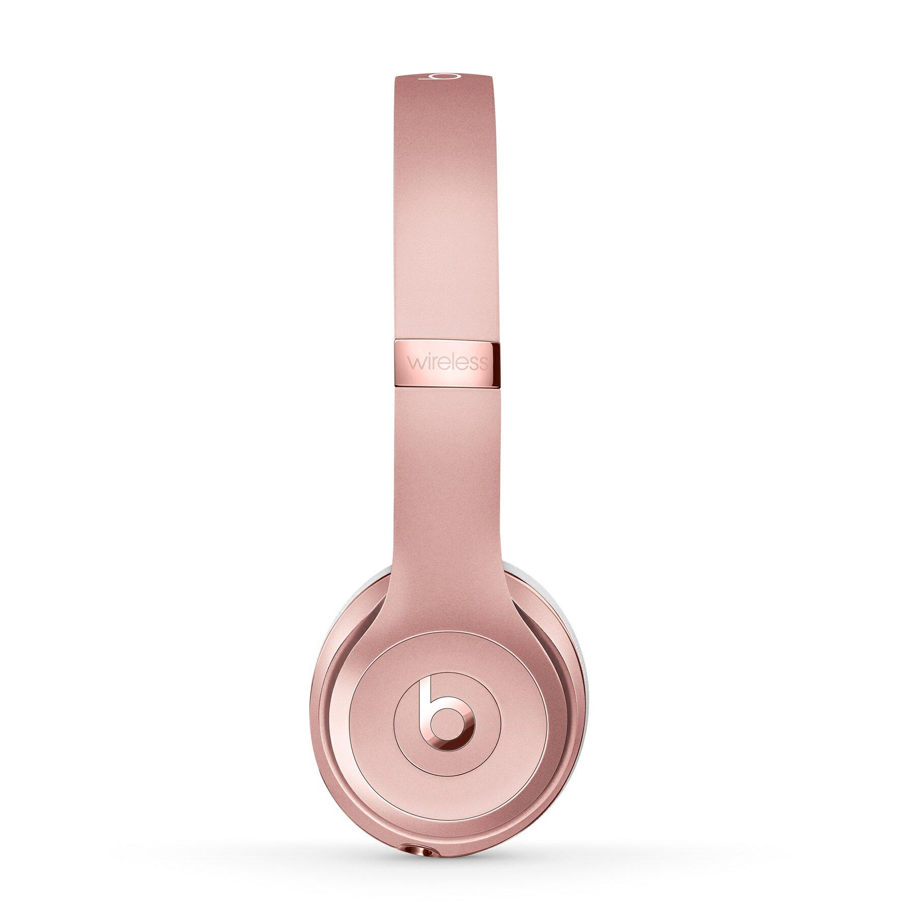Beats Solo3 Wireless On-Ear Headphones - Rose Gold 2
