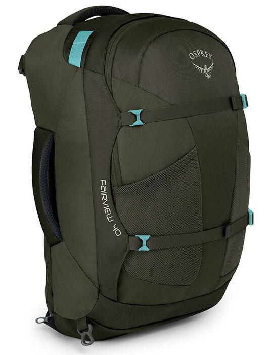 【鄉野情戶外用品店】 Osprey |美國| Fairview40 自助旅行背包 女款/多功能自助行背包-朦朧灰S/M/Fairview 40 【容量40L】