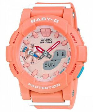 CASIO Baby-G 運動紀錄雙顯錶