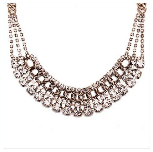 第五大道水晶項鍊Fifth Avenue Crystal Necklace