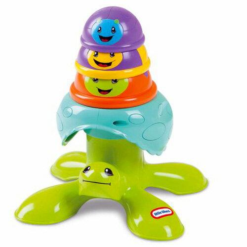 【Little Tikes 小泰可】嬰童遊戲 - 烏龜疊疊樂
