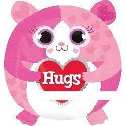 粉紅貓糖果氣球大象氣球
