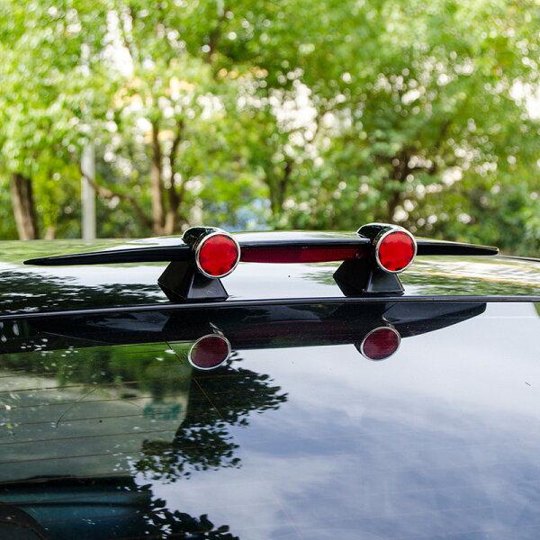 美琪(時尚有型)改裝汽車迷你小尾翼通用個性烤漆飛機尾翼