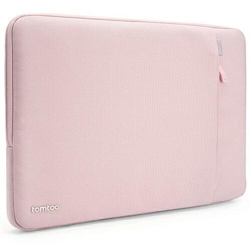 【美國代購】Tomtoc 360° 防摔保護 Laptop Sleeve for MacBook Air/Pro 13.3 inch (2012 Late-2016 Early)-淡粉紅