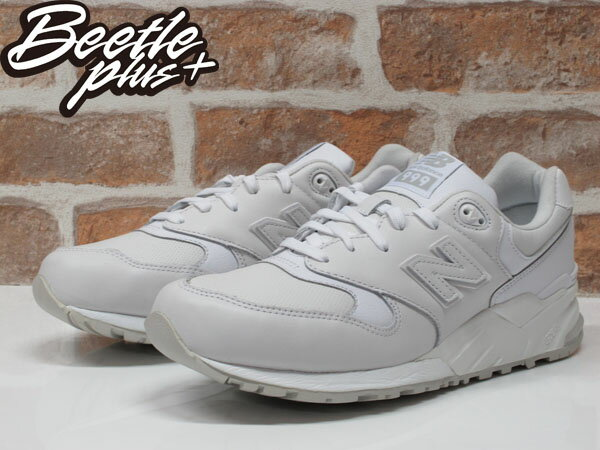 BEETLE NEW BALANCE ML999AW 999 WHITE OUT 全白 皮革 復古 慢跑鞋 0