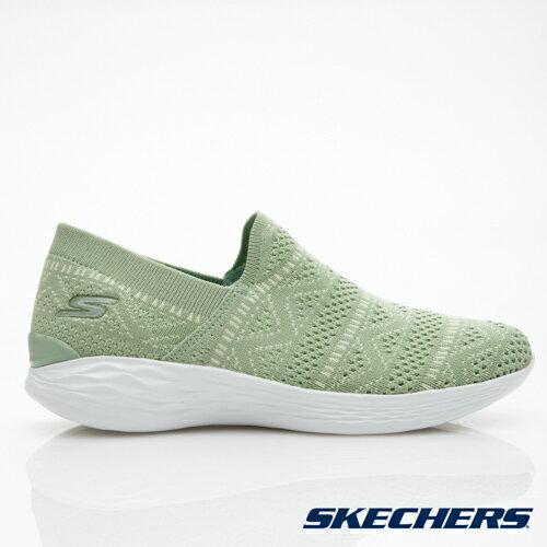 AKECHERSYOU女鞋健走休閒針織懶人鞋輕量休閒舒適綠【運動世界】14973GRN