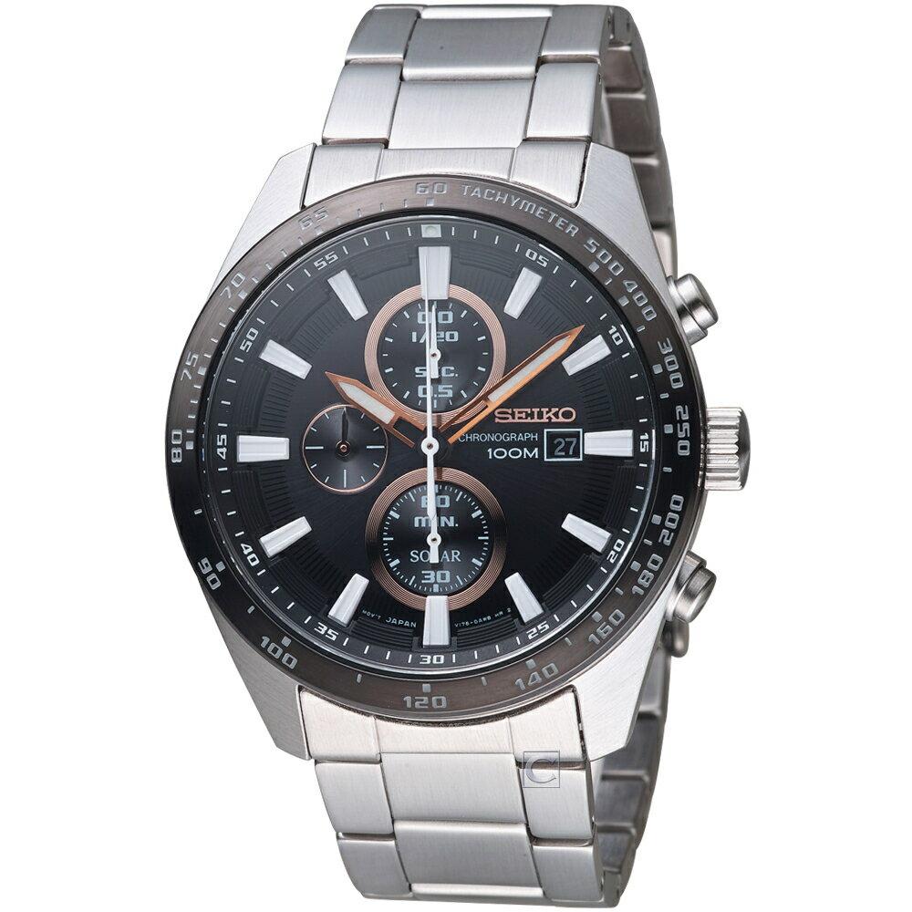 SEIKO Criteria勁速交鋒計時腕錶 V176-0AV0D SSC649P1 0