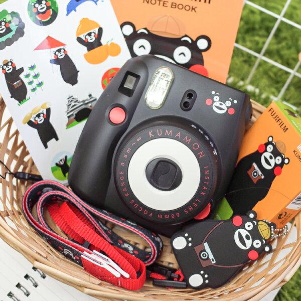PGS7富士拍立得相機-Mini8Mini8熊本熊Kumamon萌熊熊紋禮盒組【SCZ71538】