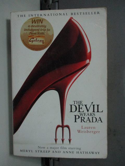 【書寶二手書T1/原文小說_LDE】Devil Wears Prada_Lauren Weisberger