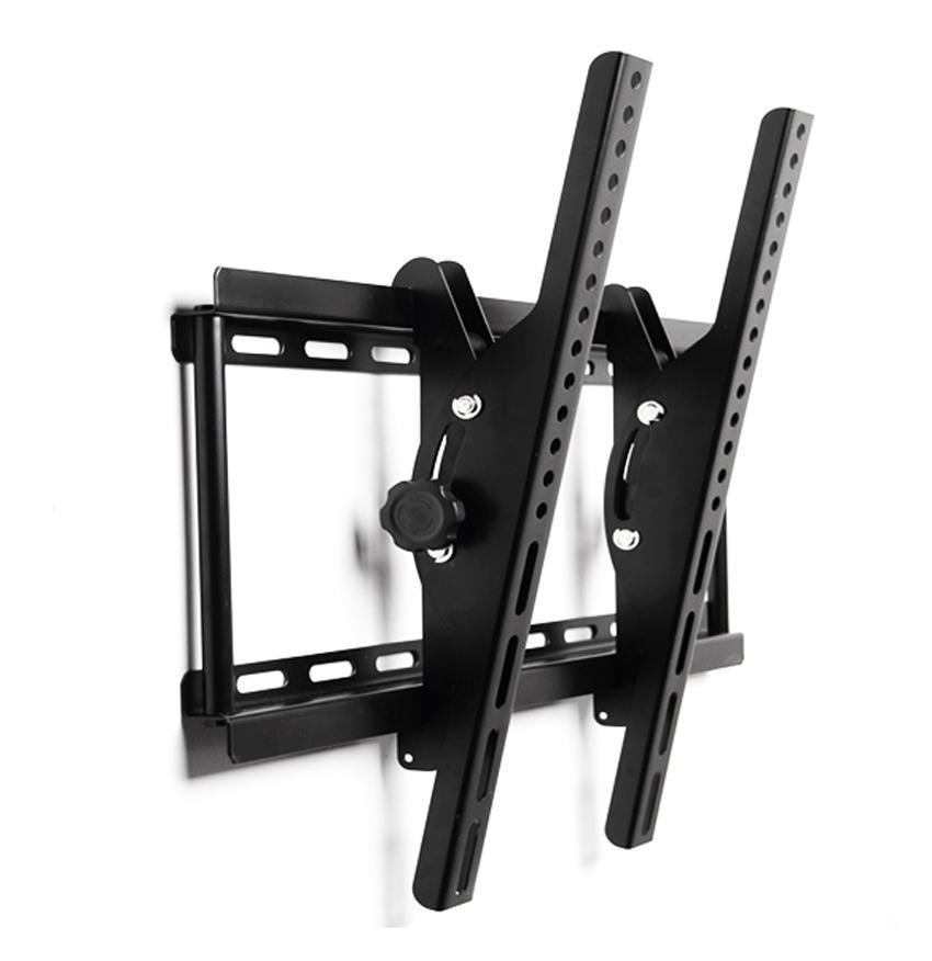 Black Adjustable Metal Tilting Television Wall Mount Bracket for 40-70inch 0