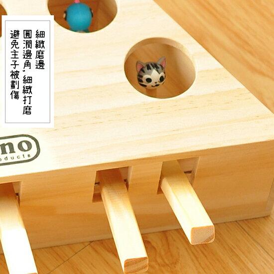 ++貓主子樂趣必備++可愛動物造型打地鼠木造玩具-小樂寵 3