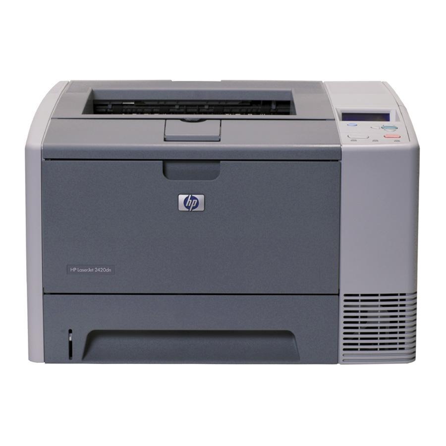 HP Laserjet 2420DN Laser Printer 0