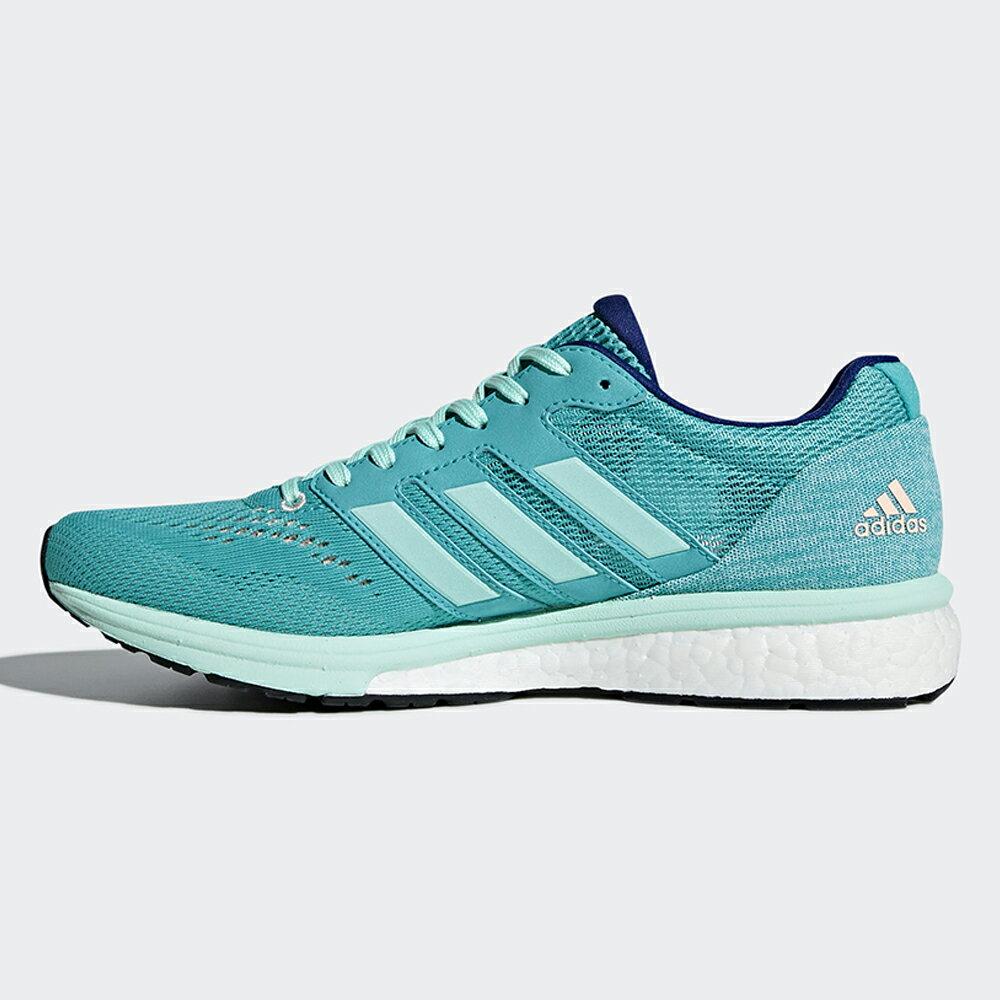 Adidas Adizero Boston 7 女鞋 慢跑 BOOST 輕量 透氣 避震 綠 【運動世界】 BB6535