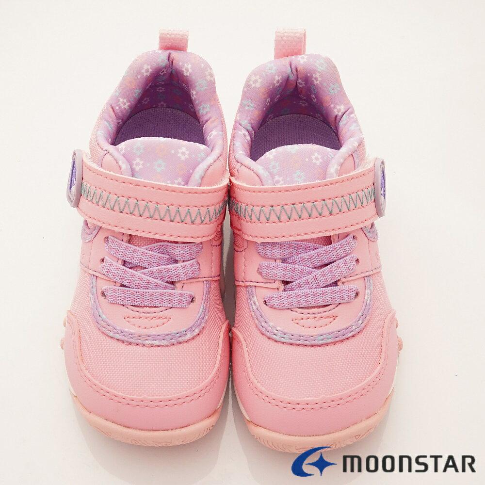 日本Moonstar月星機能童鞋2E穩定款-CRC22754粉(中小童段) 4