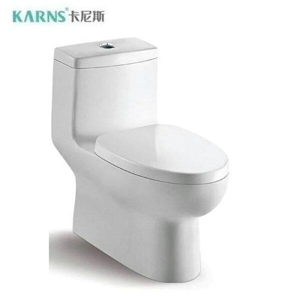 【KARNS卡尼斯】噴射虹吸式單體馬桶(K093)