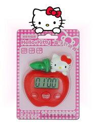 X射線【C300013】Kitty 計時器(蘋果造型),提醒器/定時器/計時器/計數器/計時器/轉速表