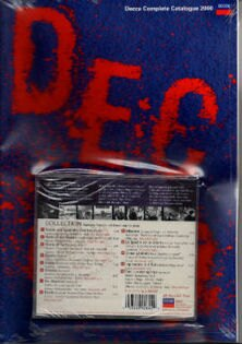 DECCA傳奇再現示範片&2000年DECCA原文目錄(DECCALEGENDS&DccacompleteCataloque2000)【CD+BOOK】