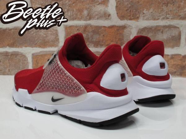 男生 BEETLE NIKE SOCK DART 紅色 紅白 襪套 慢跑鞋 平民版 819686-601 2