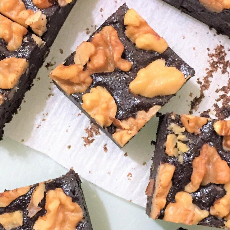 頂級核桃巧克力布朗尼 4入禮盒 Walnut Brownies   幸福滿滿的 欲罷不能的幸福滋味 團購 甜點 下午茶 禮盒 蛋糕