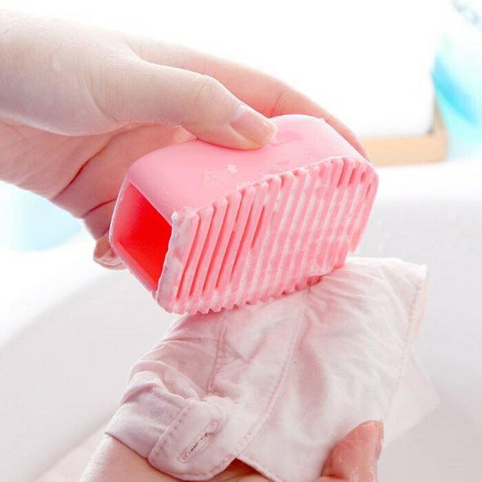[Hare.D] 手握式糖果色刷 矽膠洗衣刷 家務清潔 搓衣板 迷你洗衣板 多功能刷子 清潔刷 衣領 袖口 洗衣精 洗衣粉