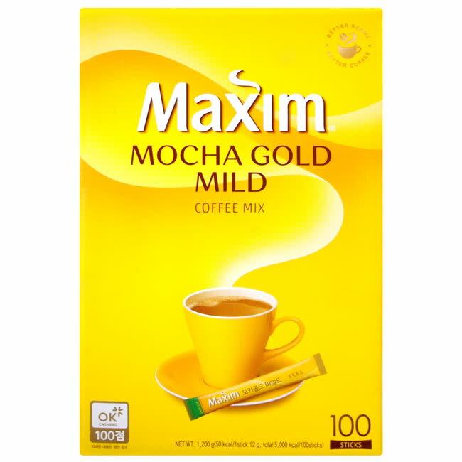 韓國Maxim麥心3合1摩卡咖啡(1200g)