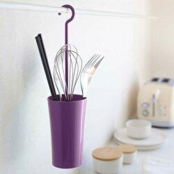 Yamazaki 現代鄉村可掛式廚具瀝水籃-L,瀝水架/餐具架/餐具收納
