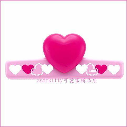 asdfkitty可愛家☆日本SKATER愛心造型便條紙夾/MEMO夾/磁鐵夾-可貼在冰箱上-日本正版商品
