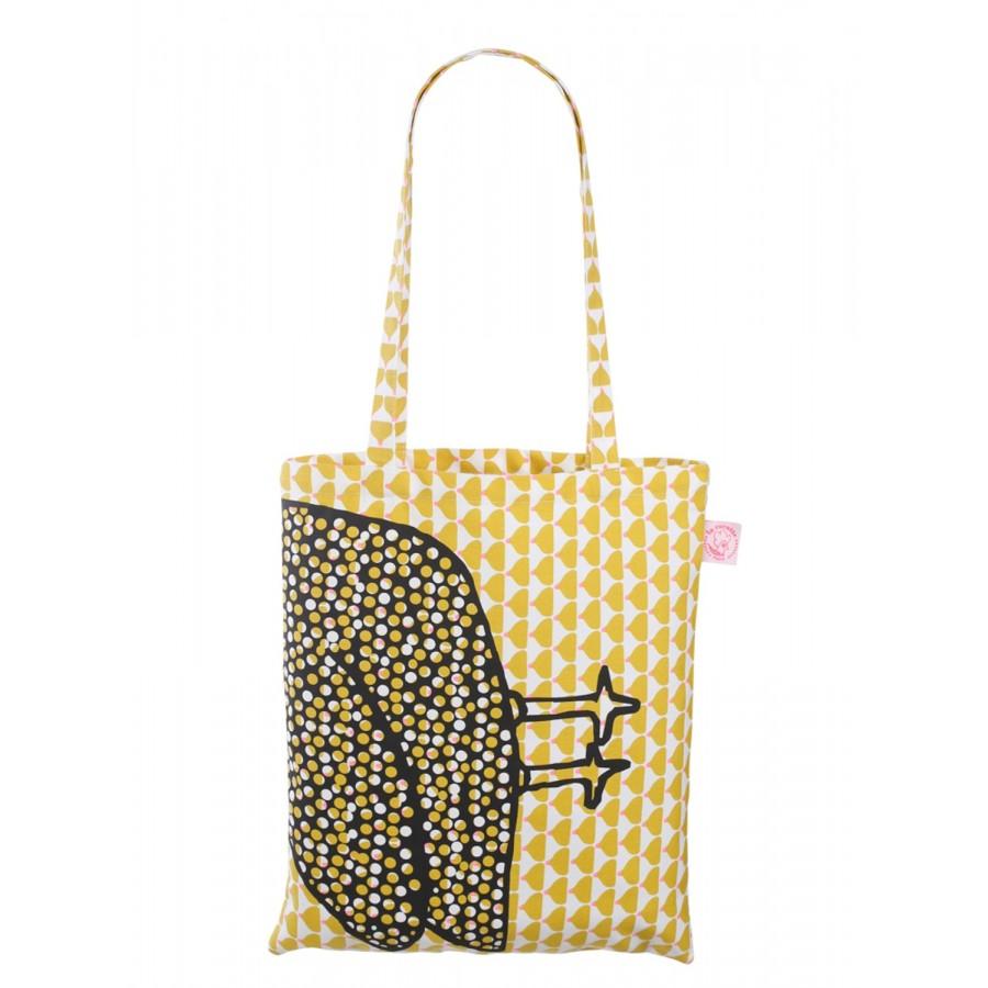 《法國 La Cocotte Paris》Chic Ocher Paulette 購物提袋 1