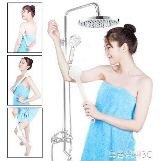 洗澡刷搓澡搓背神器強力不求人洗澡刷子搓背刷長柄沐浴刷按摩洗浴器YTL