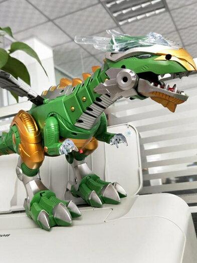 機械噴火恐龍機器電動超大號噴霧 cf大號恐龍玩具電動下蛋仿真動物機械霸王龍超大模型會走路兒童男孩