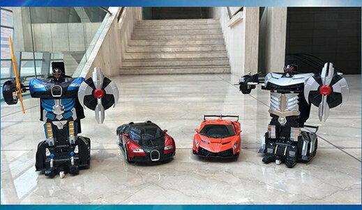 美致超大感應變形遙控汽車蘭博基尼金剛機器人充電動兒童玩具男孩【快速出貨】