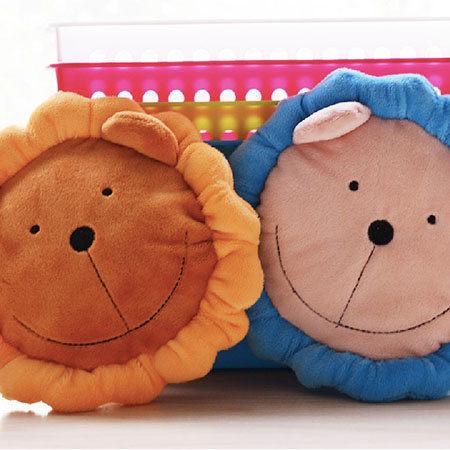 <br/><br/>  太陽獅毛絨飛盤發聲玩具.兩色-翹翹鬍子<br/><br/>