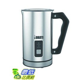 [104美國直購] Bialetti 06725 Electric Milk Frother, Silver 奶泡機