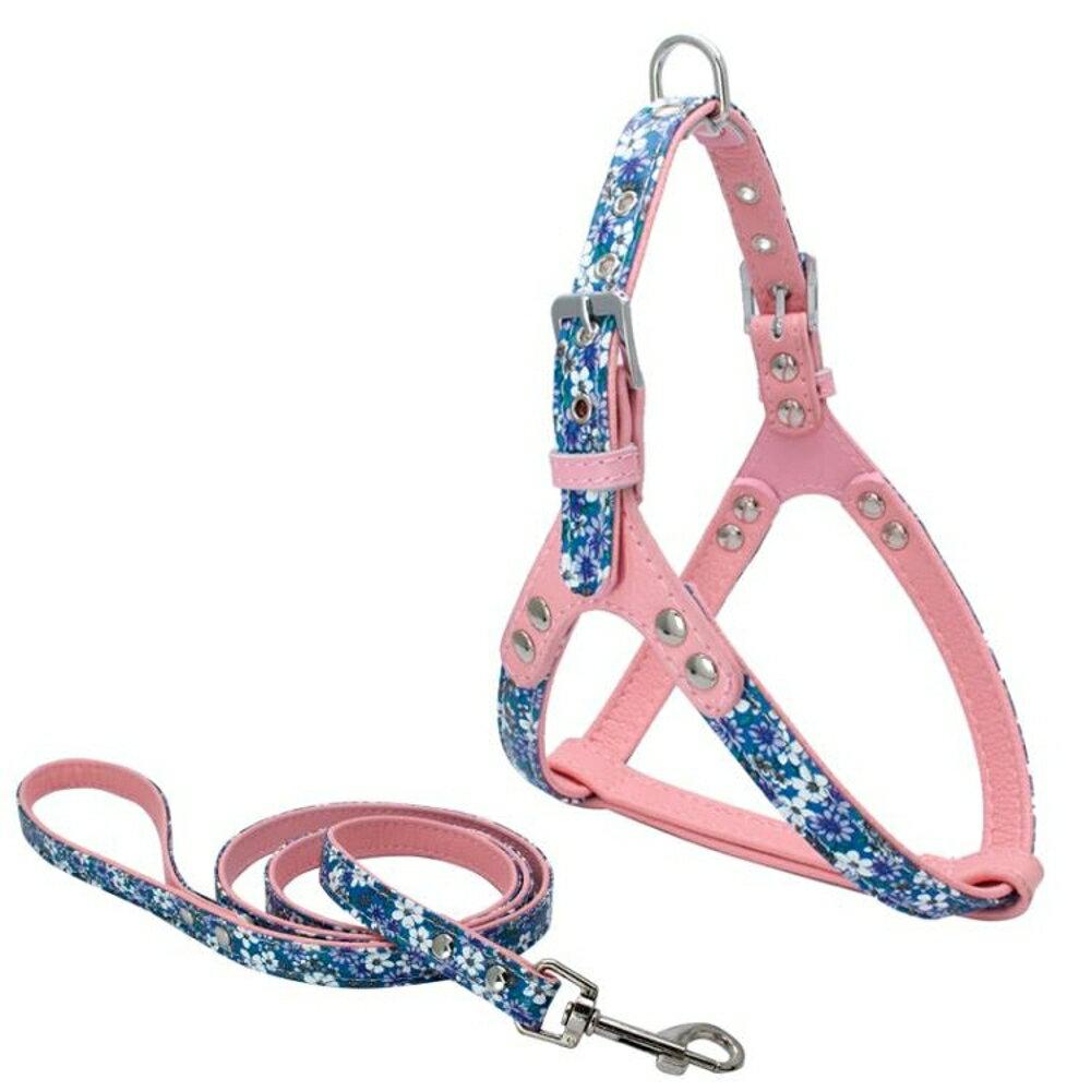 牽引繩 狗狗牽引繩中型小型犬狗狗胸背帶比熊泰迪狗鏈子遛狗繩寵物用品 曼慕衣櫃