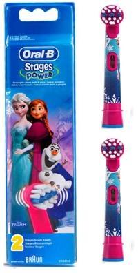 【Oral-B】歐樂B 迪士尼兒童刷頭EB10-2(1卡2入)-冰雪奇緣