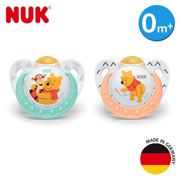 德國【NUK】迪士尼安睡型乳膠安撫奶嘴1入(初生型/一般型)(花色隨機出貨)
