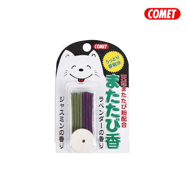 日本COMET 木天蓼系列 線香 8根-貓咪專用