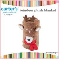 彌月寢具用品推薦到Enen Shöp @Carter's 可愛麋鹿造型保暖毯 #L35782H 新生兒/彌月禮 christmas就在ENEN SHOP推薦彌月寢具用品