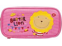 奶油獅雙層筆袋(粉紅)PB-306