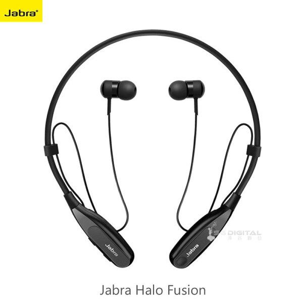 捷波朗JabraHaloFusion藍牙耳機耳道式藍牙立體聲音效雙待機頸掛式耳塞式一鍵控制
