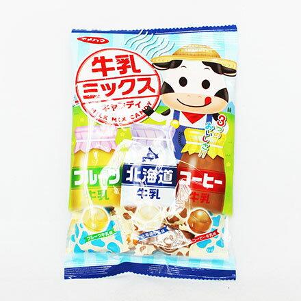 【敵富朗超巿】Amehama製果 牛乳3風味糖(80g) - 限時優惠好康折扣