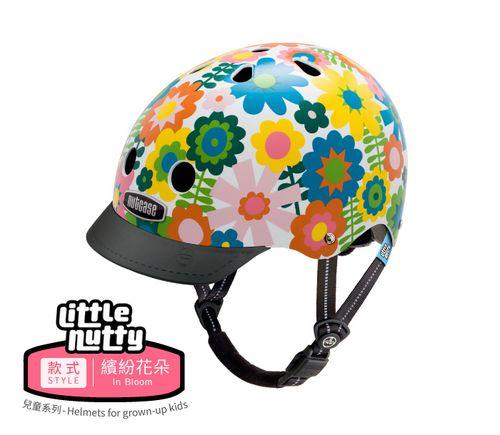 ★衛立兒生活館★美國Nutcase彩繪安全帽-Little Nutty兒童系列-繽紛花朵