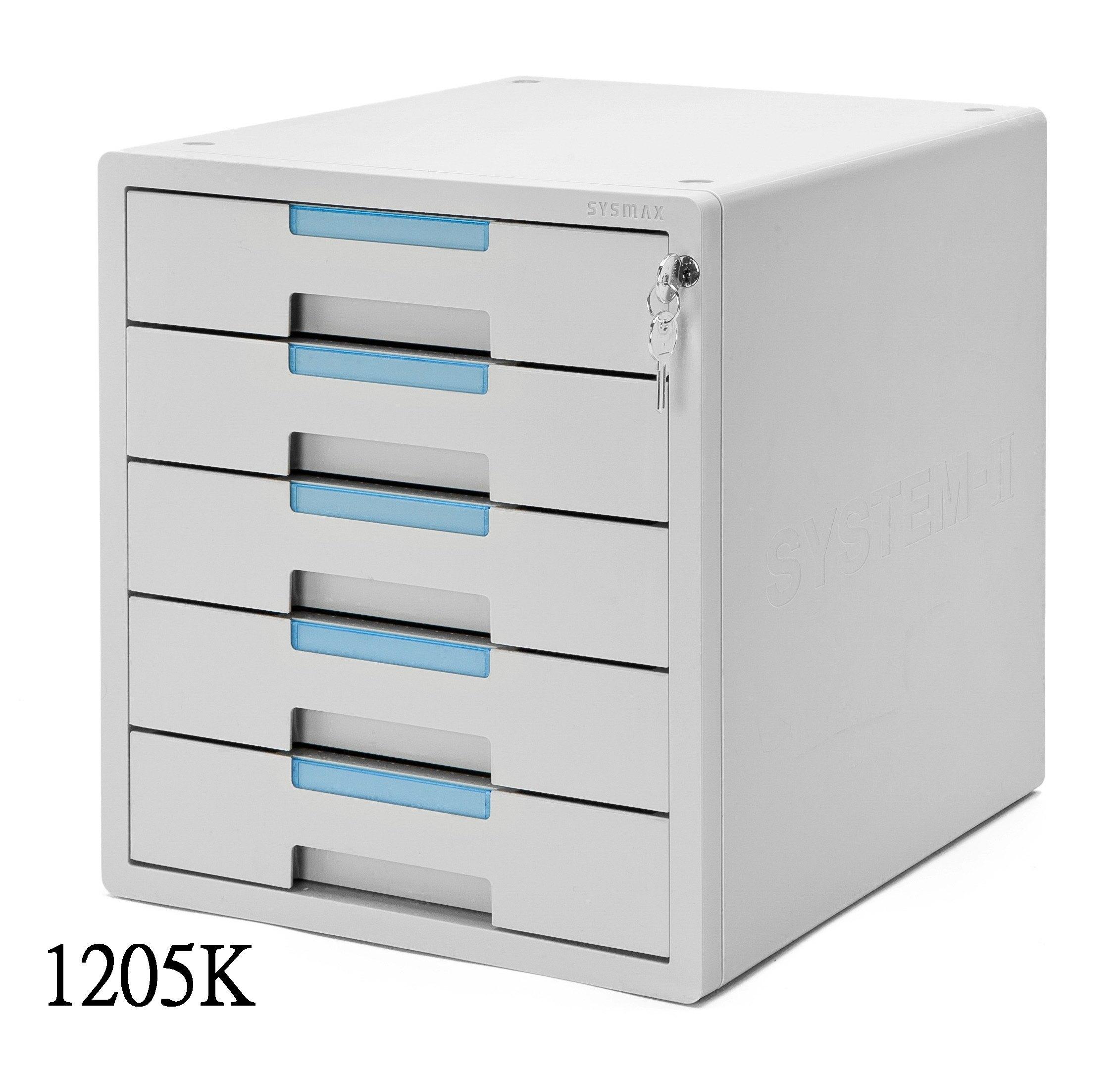雙鶖 Sysmax 五層效率櫃 (附鎖) 象牙白 1205K