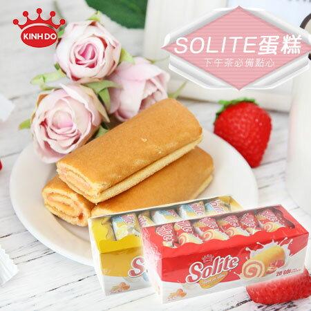越南KINHDOSOLITE蛋糕360g草莓奶油蛋糕瑞士捲【N600106】